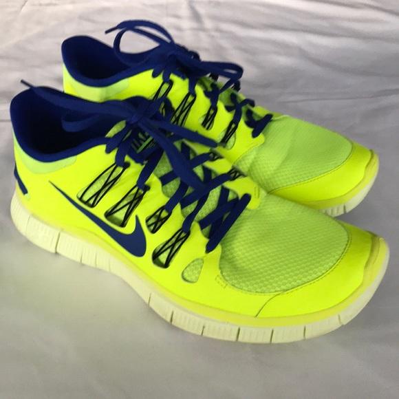 Nike + Free 5.0 Athletic Running Shoe Men Size 12
